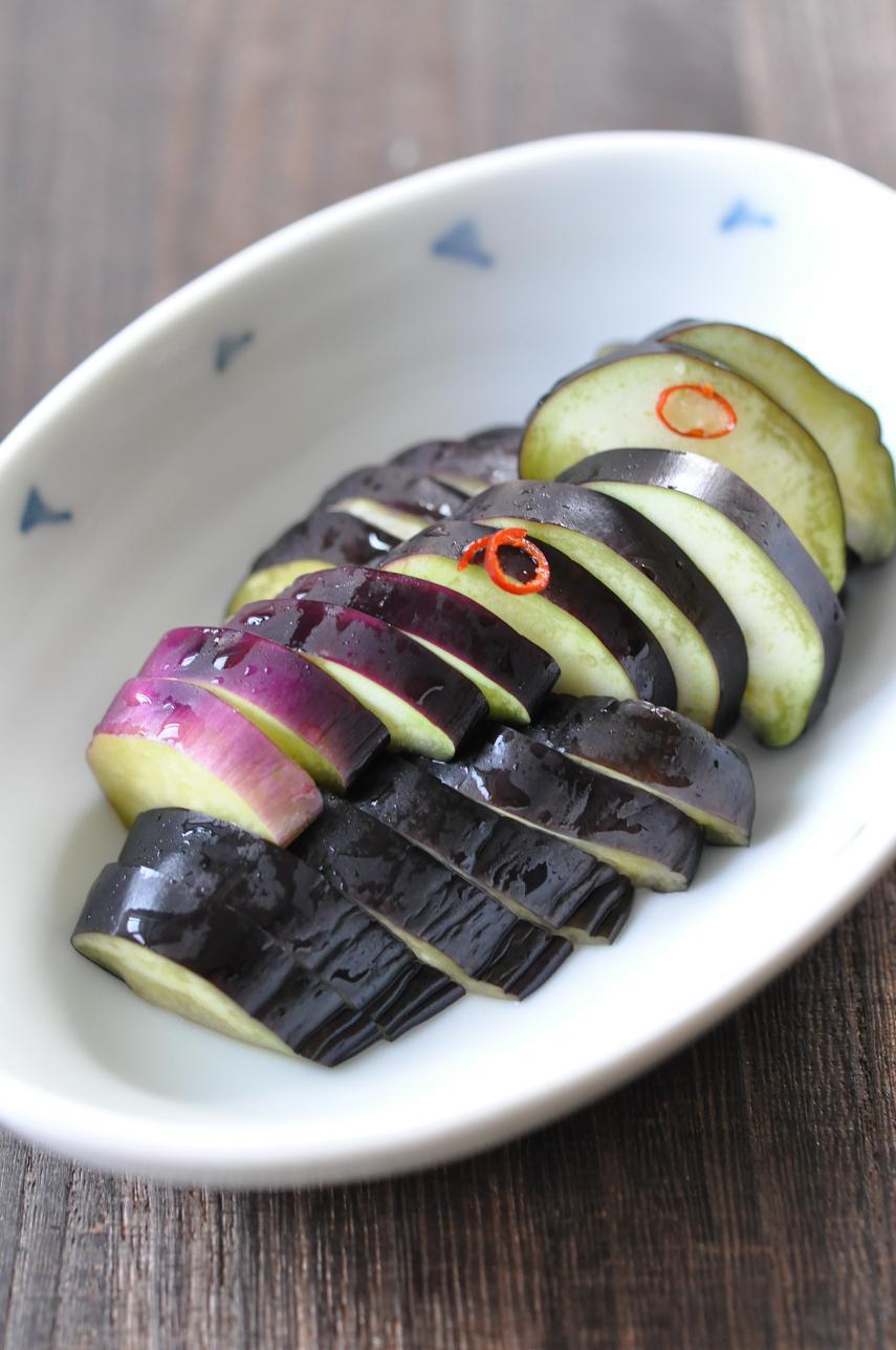 枝豆の野菜だし浸しと茄子のほしこ漬け