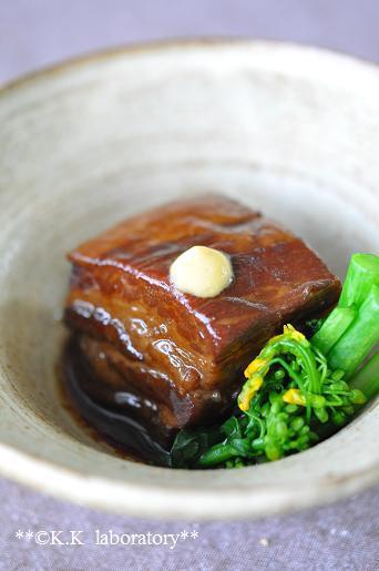 ごぼう茶煮豚
