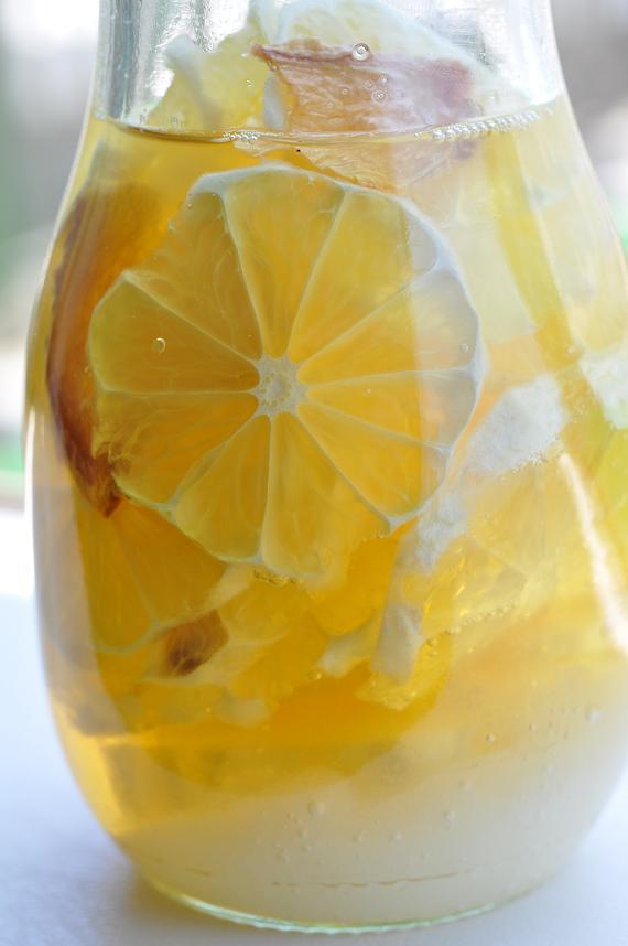 乾燥生姜入りはちみつレモンシロップ