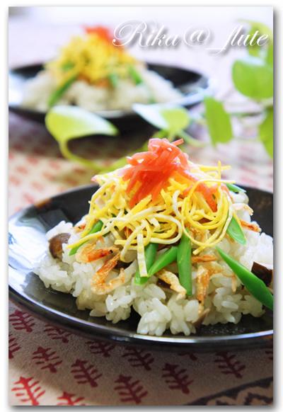 HOSHIKO炊き込みミックスで簡単混ぜ寿司