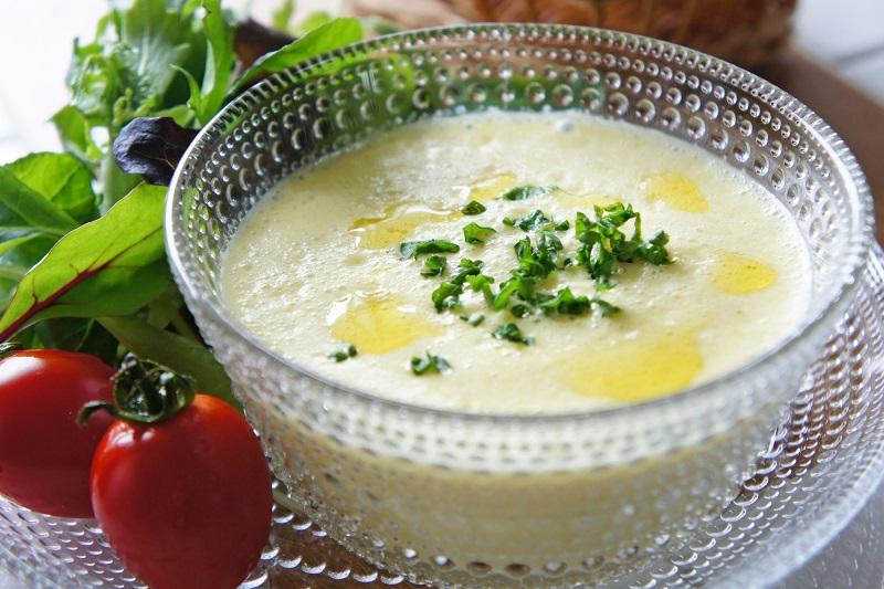 パプリカと新玉ねぎのスープ